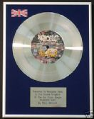 "PAUL WELLER  -  7"" Platinum Disc - PEACOCK SUIT"
